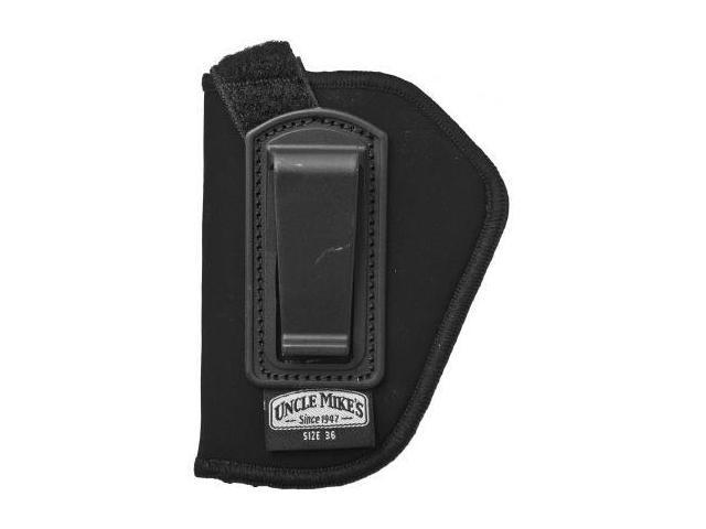 Uncle Mike's Open Style Inside-The-Pant Holsters - Black Nylon - Size 15, Left H
