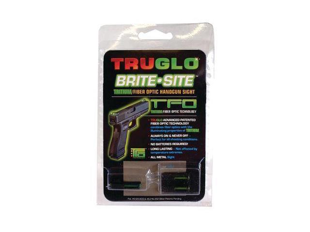 Truglo TG131MPTY TFO Tritium Fiber Optic Smith & Wesson Green/Yellow Gunsight