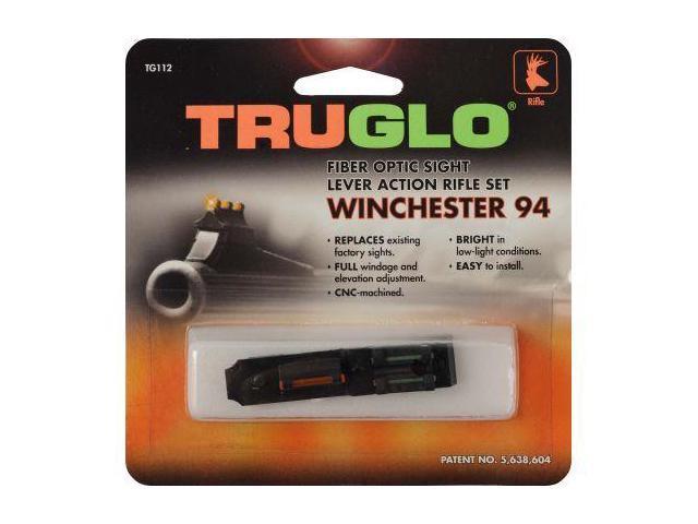 TruGlo Firesight Aluminum Shotgun Sights, Green Rear, Red Front - Winchester Rif