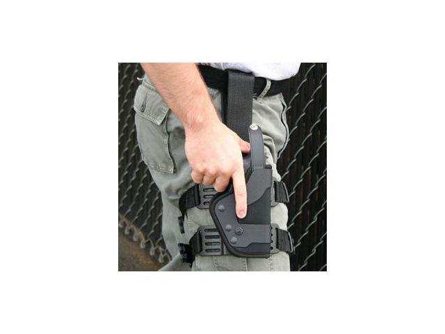 Uncle Mike's Law Enforcement Kydex Black Holster Platform w/ Double Strap