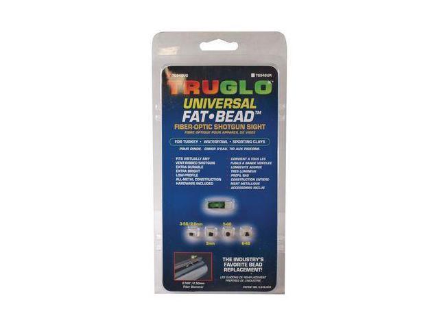 TruGlo Fat Bead Shotgun Sight Universal Green