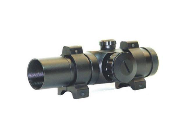 Leatherwood Hi-Lux 1x30 Red Dot Sight, Matte Black, 3MOA Dot Size -