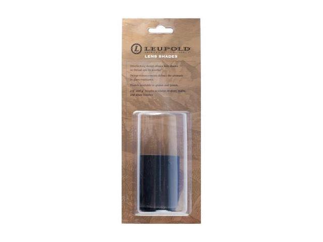 Leupold ScopeSmith Lens Shade, 2.5in Long, 40mm Objective, Matte Black, Pre 2004