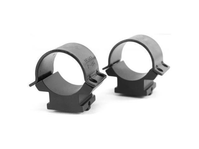 Weaver Sure Grip Windage Adjustable Rings - 1in, High, Matte Black