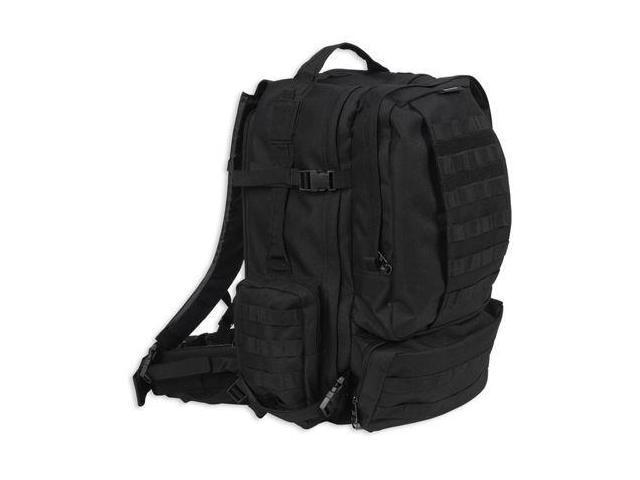 Bulldog Cases Large Moduler MOLLE Assault Backpack - Black BD412