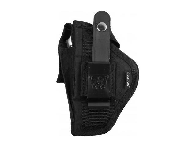 Bulldog Cases Extreme Belt and Clip Ambidextrous Holster, Black - Compact Autos