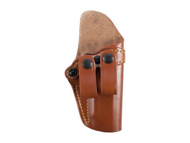 Gould & Goodrich Inside Pants Holster, Brown, Right Hand - 4in-4.25in 1911 Type