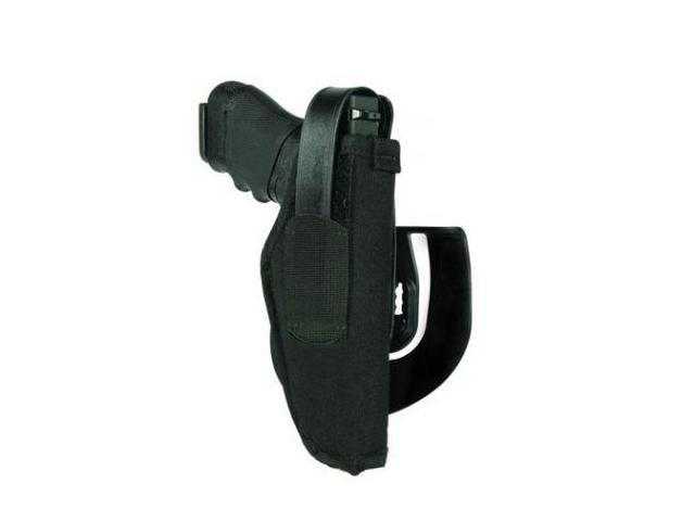 BlackHawk Paddle Holster, Black, Right Hand, 3.25-3.75in BBL Med/Large Frame Aut