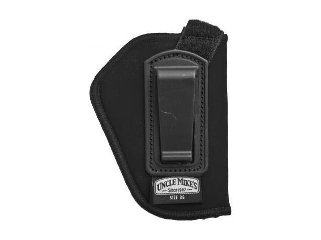 Uncle Mike's IWB Holster, Right Hand, Retention Strap - 2in BBL Revolvers