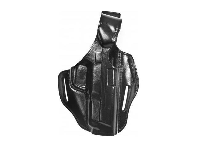 Bianchi Piranha Holster Black, Right Hand, Size 45 S&W M&P .45 4 in.