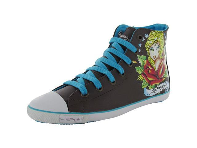 Ed Hardy Women's 'Shanghai' High-Top Sneaker