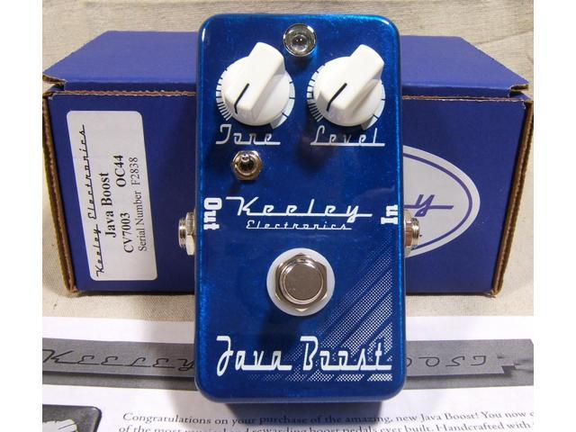 Keeley Electronics Java Boost Germanium Treble Booster