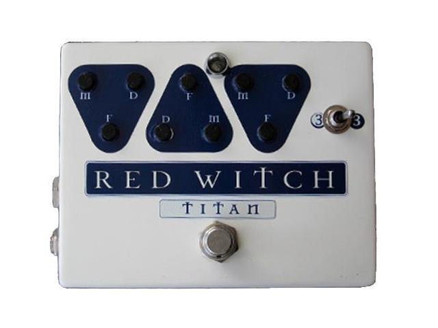 Red Witch Titan Analog Delay w/Effects Loop