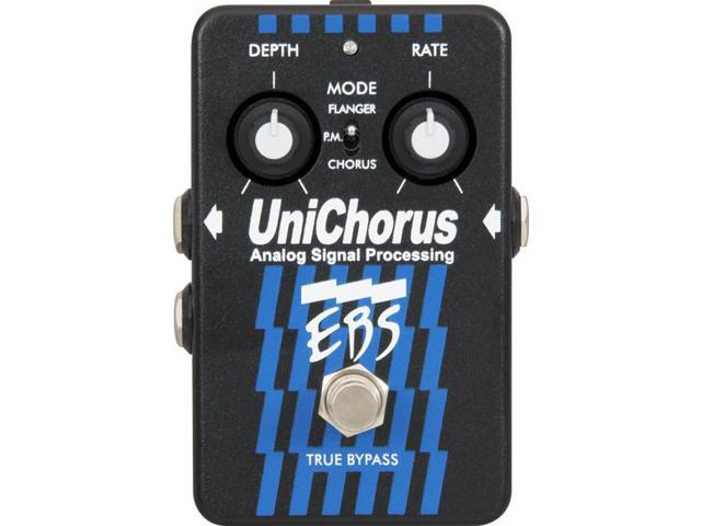 EBS UniChorus Analog Chorus Flanger Pitch Mod pedal