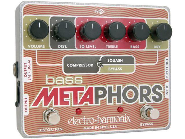 Electro-Harmonix Bass Metaphors Channel Strip & Overdrive