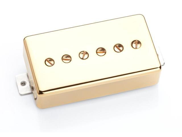 Seymour Duncan SPH90-1 Phat Cat P-90 Bridge Humbucker Replacement - gold