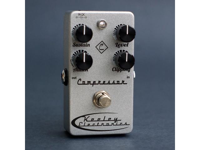 Keeley Electronics C4 Compressor - 4 Knob