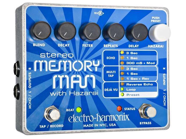 Electro-Harmonix Stereo Memory Man w/Hazarai