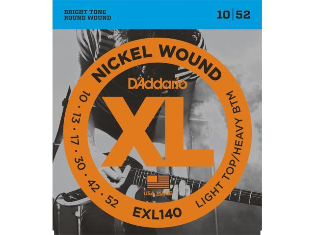 D'addario EXL140 Light Top/Heavy Bottom Electric Guitar Strings