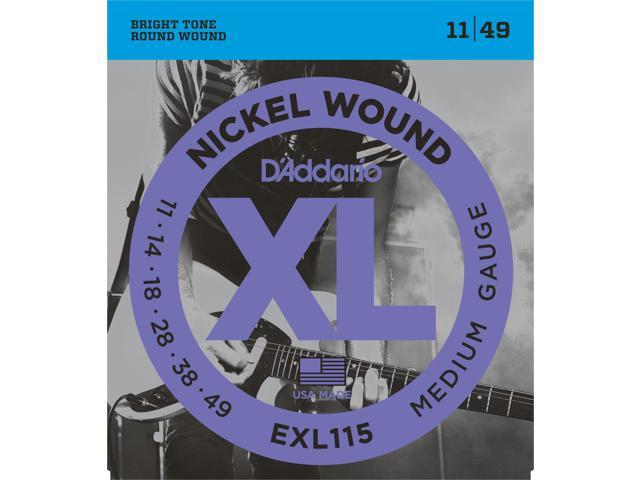 D'addario EXL115 Blues/Jazz Rock Elec Guitar Strings