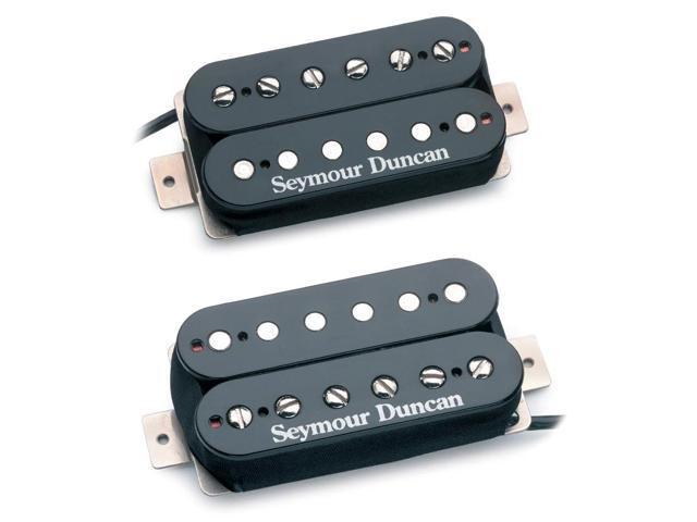 Seymour Duncan Hot Rodded Humbucker Set - black SH-2n Jazz / SH-4 JB