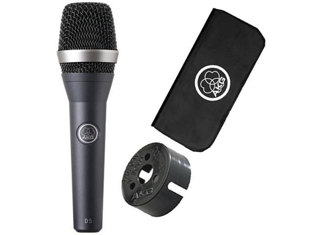 AKG D5 Dynamic Hand-held Vocal Microphone Dynamic Mic D-5 NEW