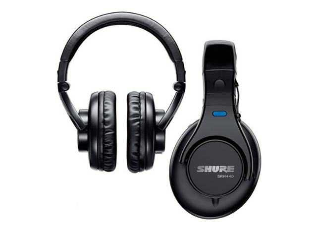 Shure SRH 440 Pro Studio Headphones (Black)