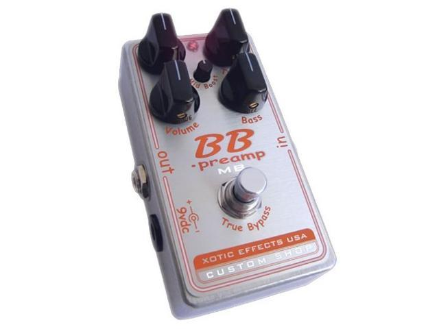 Xotic Custom Shop BB Preamp w/ Mid Boost Effects Pedal NEW