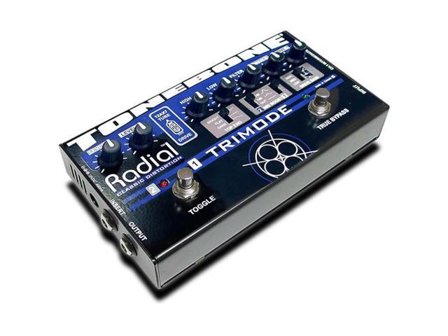 Radial Tonebone Trimode 12AX7 Tube Distortion Effect Pedal Floor NEW