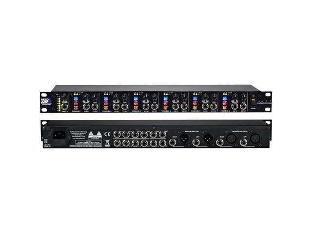 art headamp6 6 channel rack mount headphone amplifier amp new. Black Bedroom Furniture Sets. Home Design Ideas