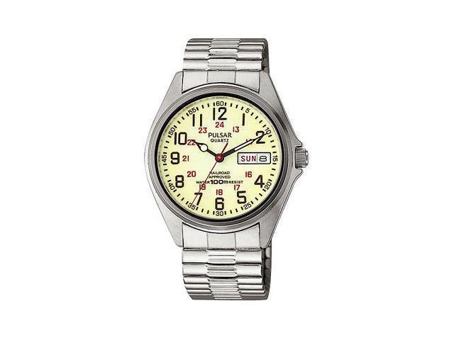 Pulsar Railroad Approved Men's Watch - PXN021