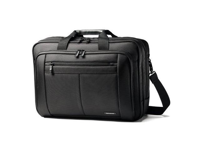 Samsonite SM43270-1041 Classic Three Gusset Briefcase - Black