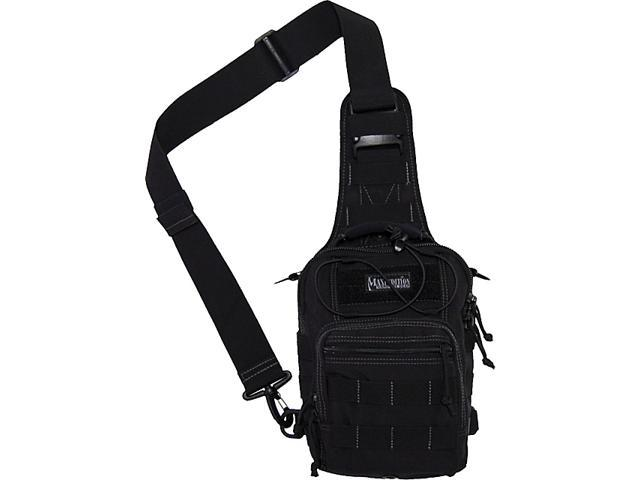 Maxpedition 0419B Ambidextrous PALS Nylon Black Remora GearSlinger Pack