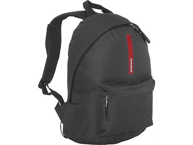 Everest Backpack with Padded Mesh Straps (Black)