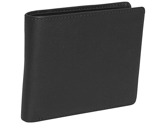Royce Leather Euro Commuter Wallet , Black - 109A-BLACK-5