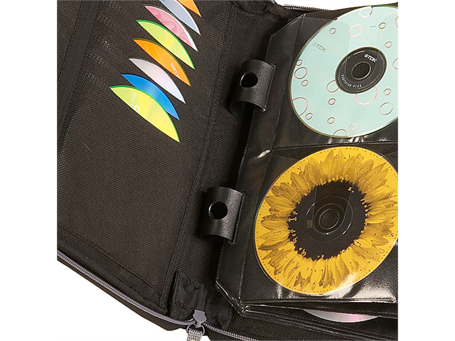 Case Logic CSW-144 BLACK Case logic black 144-cd nylon sport media wallet