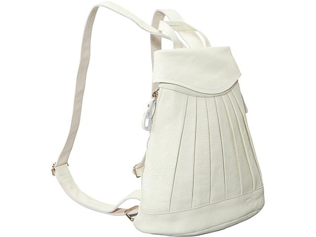 AmeriLeather Pleated Mini-Backpack