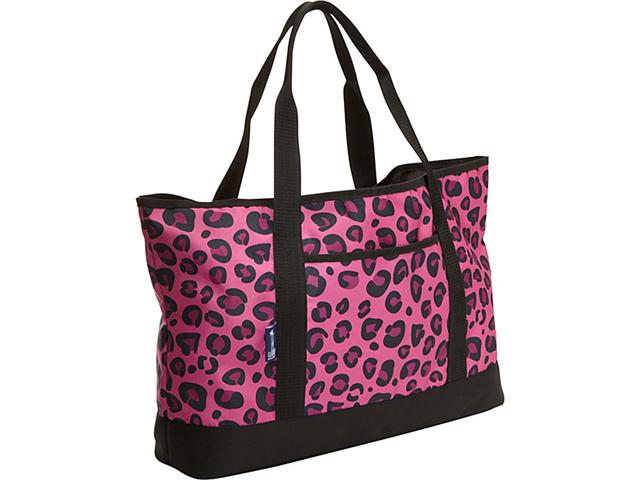 Wildkin Pink Leopard Tote-All Bag
