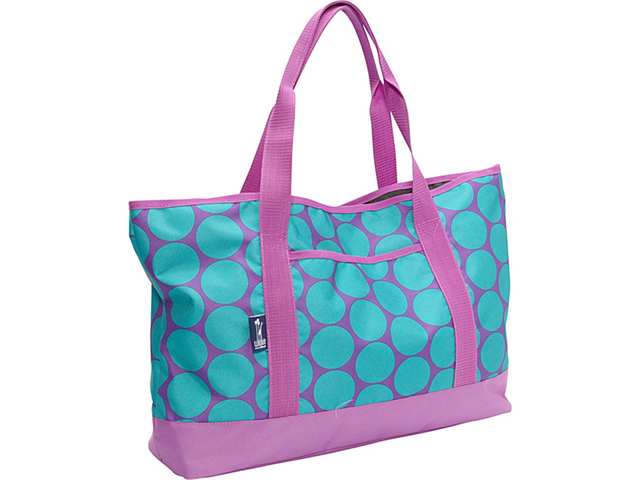 Wildkin Big Dot Aqua Tote-All Bag