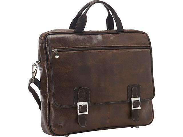 Piel Vintage Leather Laptop Business Case