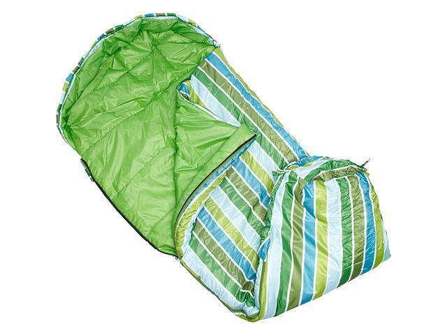 Wildkin Cool Stripes Stay Warm Sleeping Bag