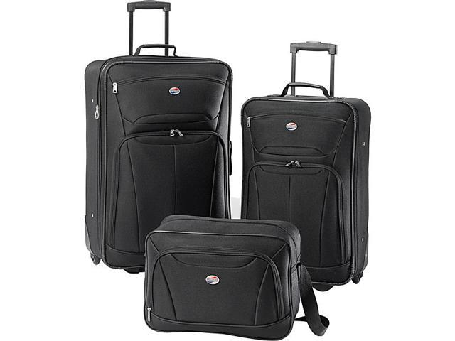 American tourister fieldbrook ii 3 pc nested luggage set - American tourister office bags ...