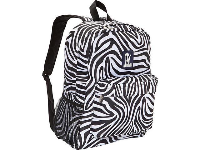 Wildkin Zebra Crackerjack Backpack