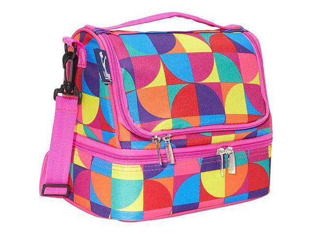 Wildkin Pinwheel Double Decker Lunch Bag