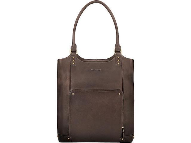 SOLO Vintage Leather 15.4in. Laptop Tote
