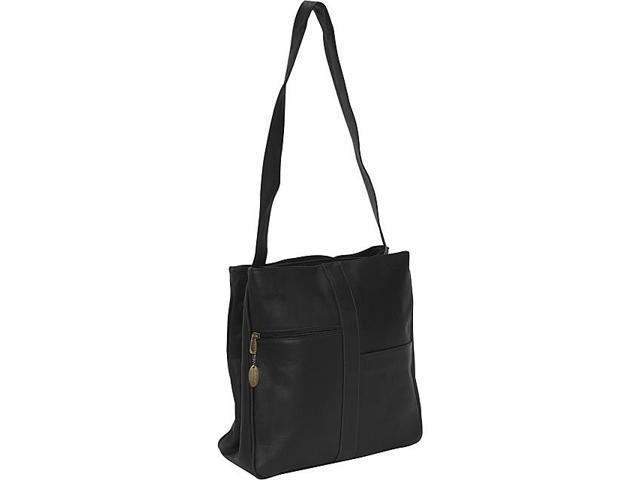 David King & Co. Double Top Zip Shoulder Bag