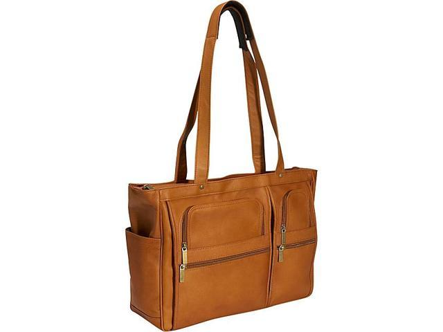 David King & Co. Womens Multipocket Laptop Briefcase