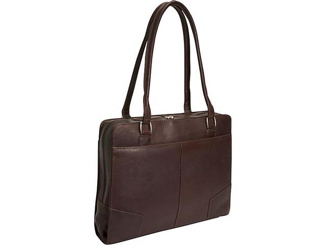 Piel Structured Laptop Tote