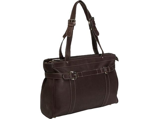 Piel Belted Laptop Tote