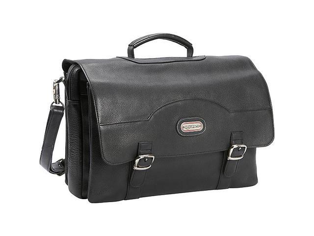Leatherbay Stanford Leather Briefcase